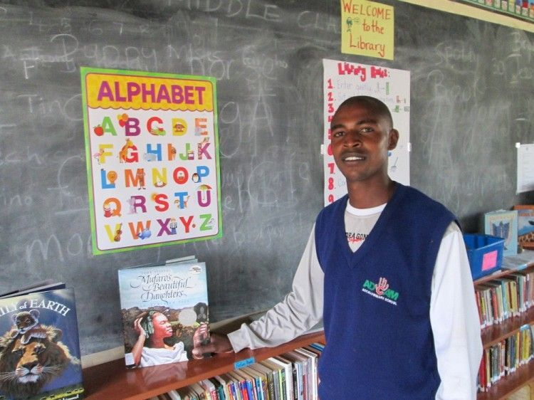 A library for the Maasai Community